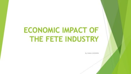 ECONOMIC IMPACT OF THE FETE INDUSTRY
