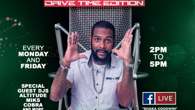 Shaka presents the Afternoon 180 Show on 91.9 Hitz FM