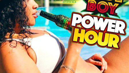 Shaka and Premier Beverages present the Rudeboy Power Hour on 91.9 Hitz FM